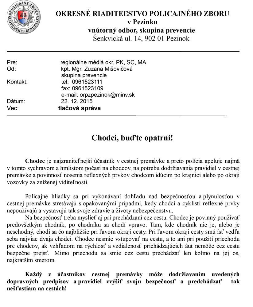 chodci_opatrenie
