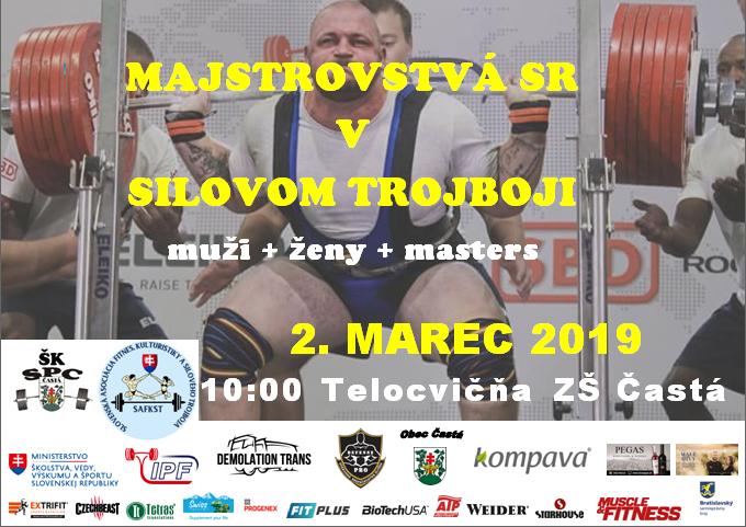 Majstrovstvá Slovenskej republiky v silovom trojboji